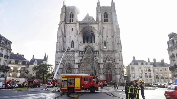 Video: Brandkatastrophe von Nantes: Verdächtiger gesteht