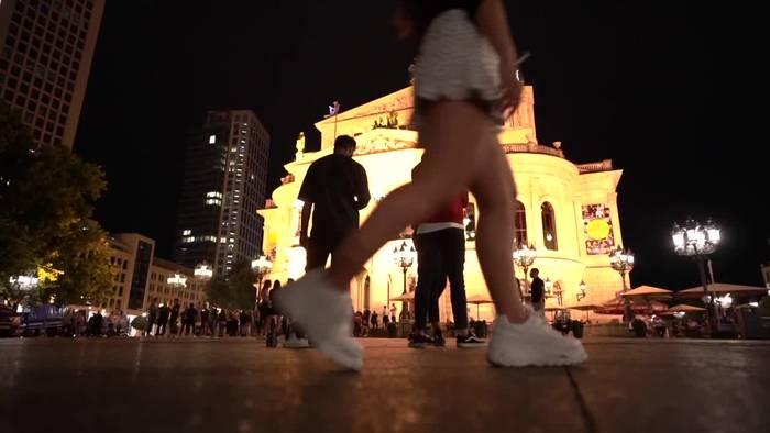 News video: Frankfurter Opernplatz erneut friedlich geräumt