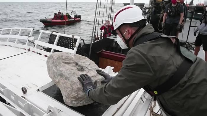 News video: Greenpeace kämpft gegen Schleppnetzfischerei in der Ostsee