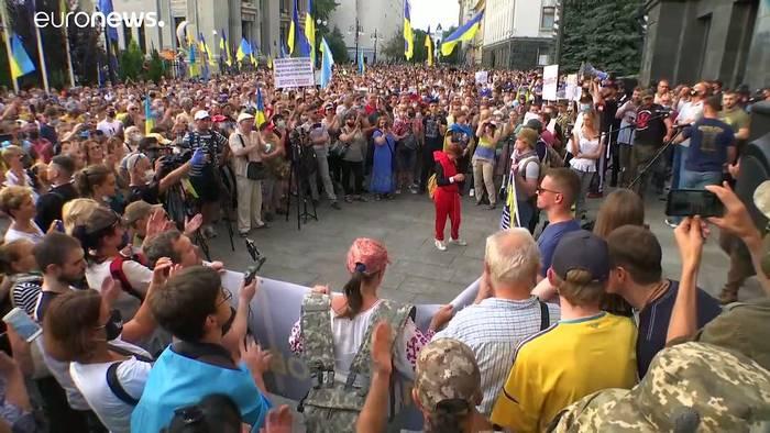 News video: Ukraine-Konflikt: Armee wirft Separatisten Bruch der Waffenruhe vor
