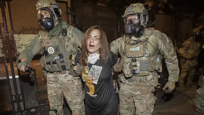 News video: Portland: Bundespolizei bleibt
