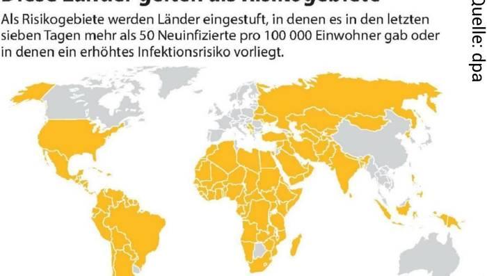 Welche Länder Sind Risikogebiete