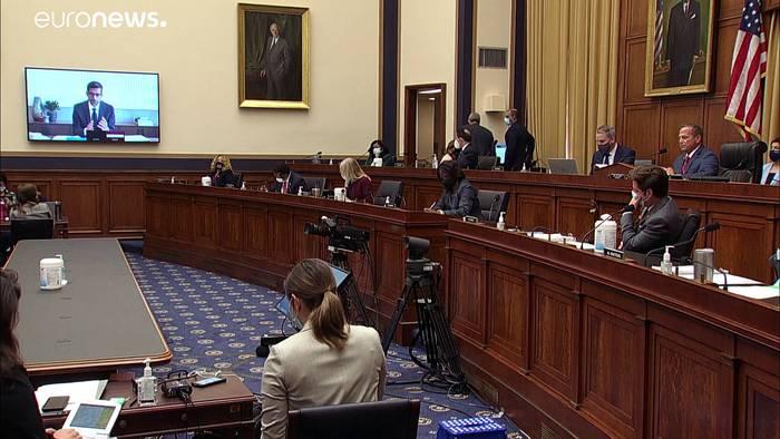 News video: Anhörung der 4 Tech-Giganten: Apple, Google & Co vor dem US-Kongress