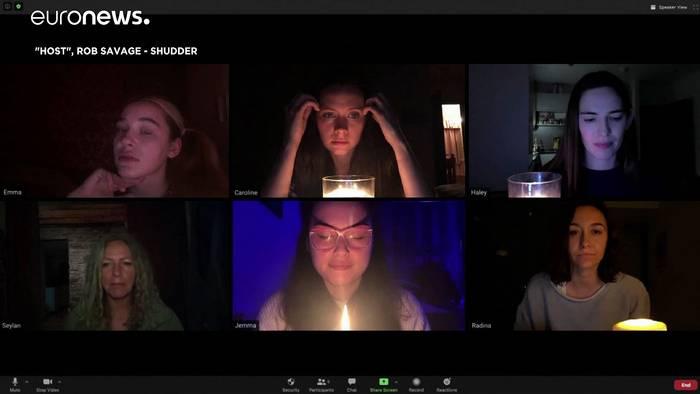 News video: Zoom-Call wird zum Horrorfilm