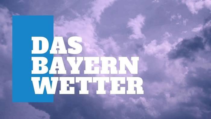 News video: Das Bayern-Wetter: Hitzewelle und Gewitter am Wochenende