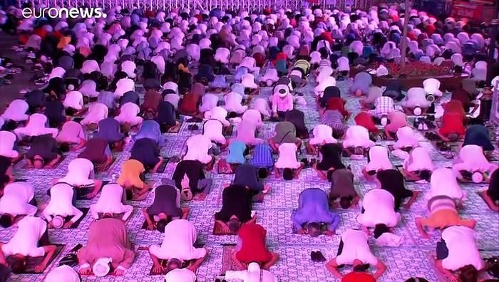 News video: Zum ersten Mal nach 86 Jahren: Eid al-Adha in der Hagia Sophia