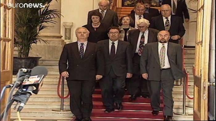 News video: Friedensnobelpreisträger John Hume gestorben