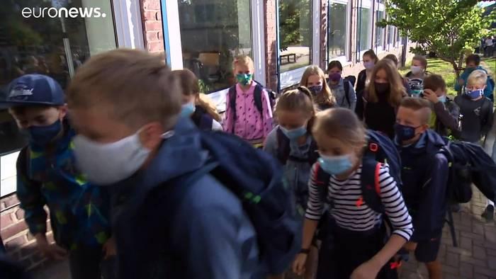 News video: Schulbeginn in Deutschland: Maskenpflicht in vielen Bundesländern