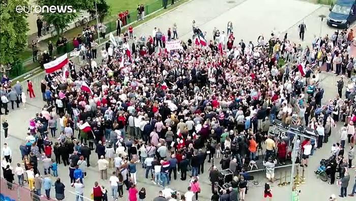 News video: Oberstes Gericht entscheidet für Andrzej Duda