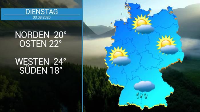 News video: Deutschland-Wetter: Hochsommer, Hitze und kaum Regen