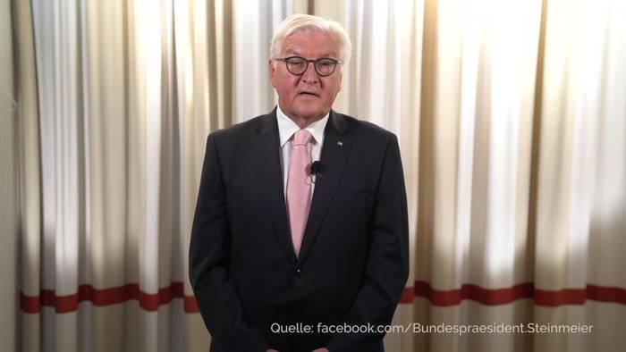 News video: Steinmeier warnt vor Verantwortungslosigkeit wegen Corona