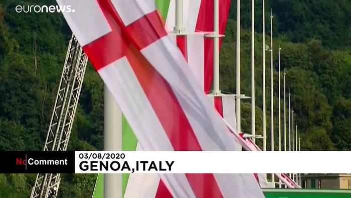 News video: Eine neue Brücke für Genua - nicht ohne Erinnerung an die alte
