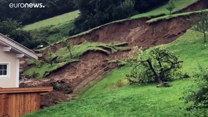 News video: Heftige Unwetter in Bayern, Slowenien und Kroatien