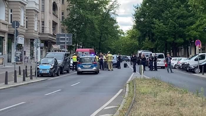 News video: Polizei: Schüsse bei versuchtem Banküberfall in Berlin