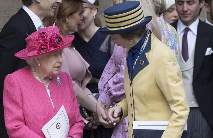 News video: Queen Elizabeth: Geheimes Mittagessen mit Prinzessin Anne