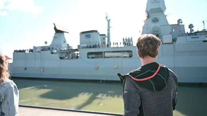 News video: Fregatte «Hamburg» zum Irini-Einsatz vor Libyen ausgelaufen