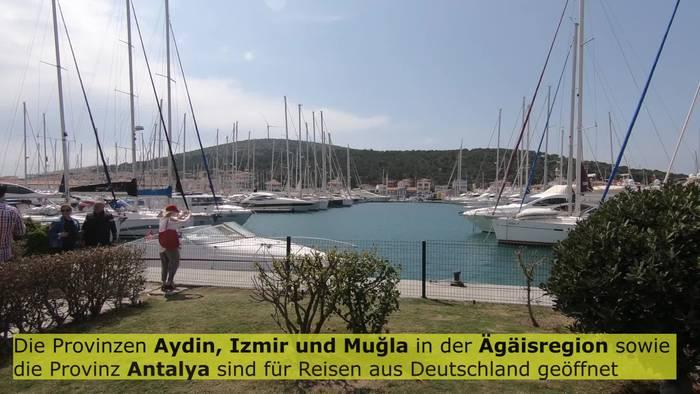 News video: Deutschland hebt Reisewarnung für wichtige Ferienregionen der Türkei auf