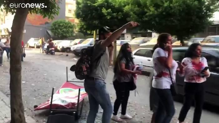 News video: Beirut zur