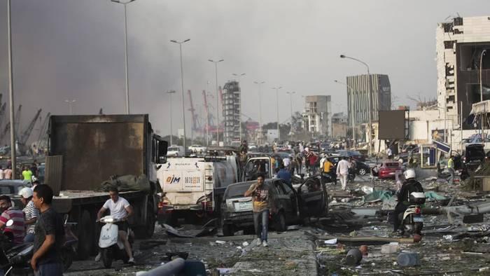 News video: Mehr als 70 Tote und 3000 Verletzte bei Explosion in Beirut