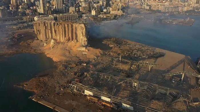 News video: Beirut unter Schock: