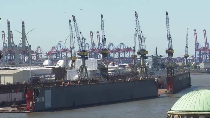 News video: Hamburg: Blohm+Voss wartet auf weitere Corona-Ergebnisse