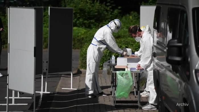 News video: Erstmals über 1000 neue Corona-Infektionen seit Anfang Mai