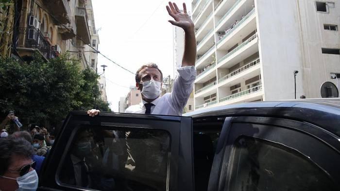 News video: Visite in Beirut: Macron kündigt Hilfskonferenz an und fordert Reformen