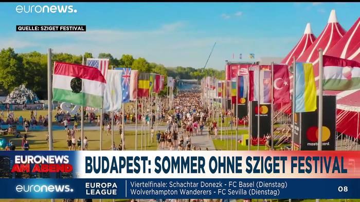 News video: Von Verzweiflung, Infektionen und Sanktionen - Euronews am Abend am 07.08.