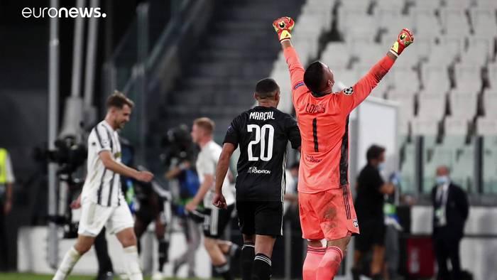 News video: Favoriten Real und Juve fliegen aus der Champions League