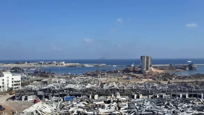 News video: Explosion in Beirut: 16 Hafenmitarbeiter festgenommen
