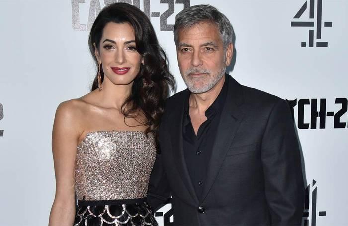 News video: George und Amal Clooney spenden große Summe