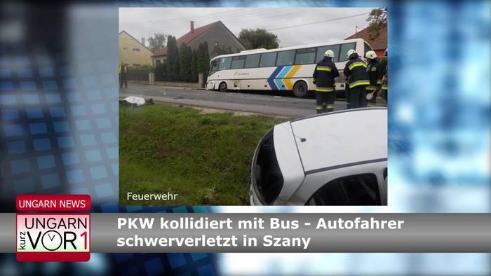 News video: Ungarn Kurz vor 1 - Der Newsflash
