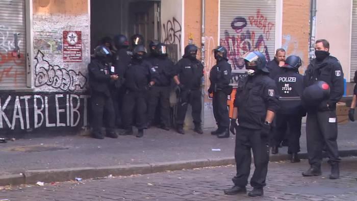 News video: Trotz Protesten: Berliner Kiezkneipe «Syndikat» geräumt