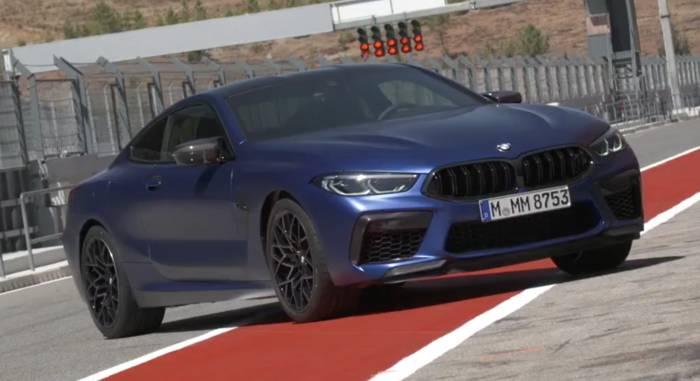 Video: Das neue BMW M8 Coupé Exterieur Design