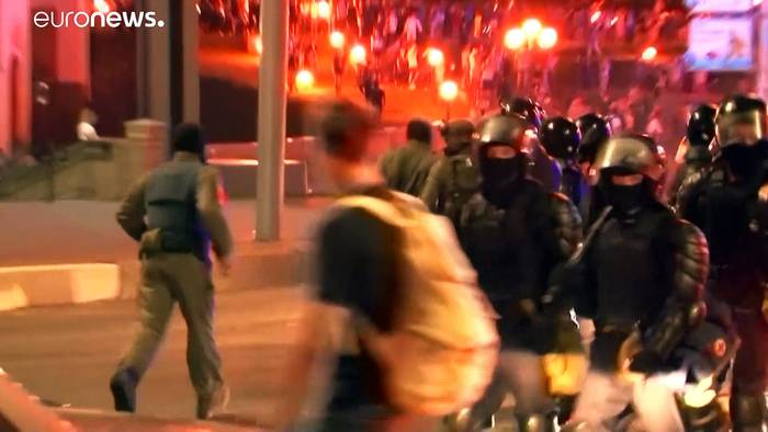 News video: Strafender Blick: EU mahnt Belarus