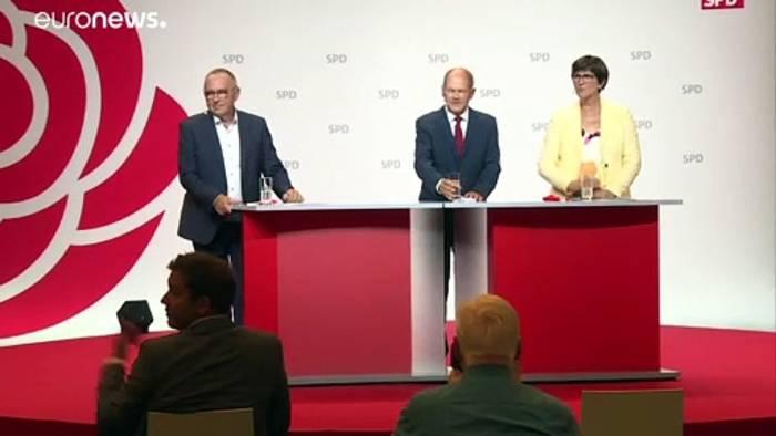 News video: SPD-Kanzlerkandidat Olaf Scholz:
