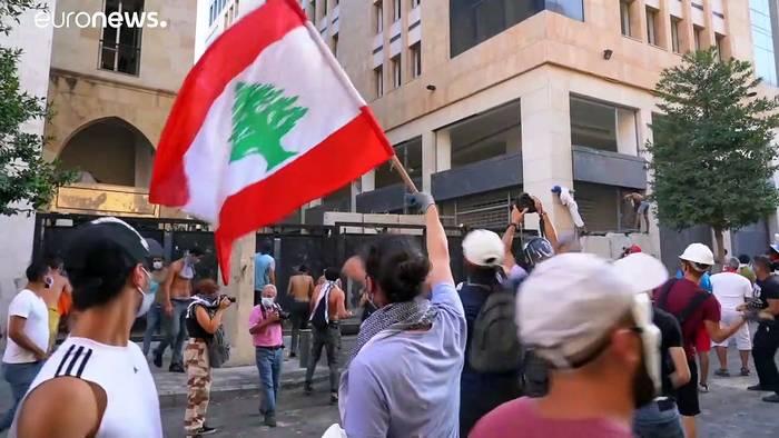 News video: Wut im Libanon: Rücktritt der Regierung reicht nicht