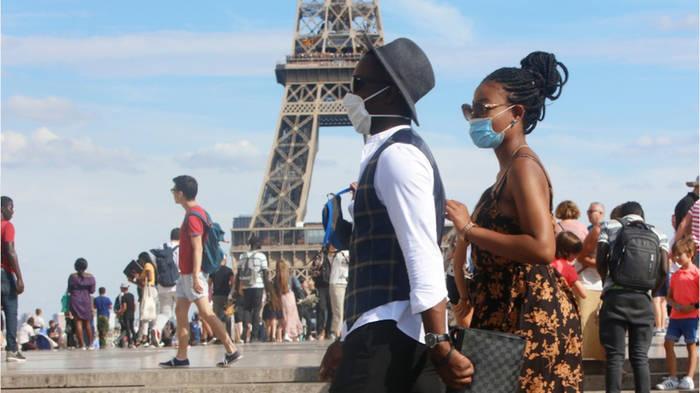 News video: Paris nur mit Mund-Nasen-Schutz? Verschärfte Maskenpflicht im Freien