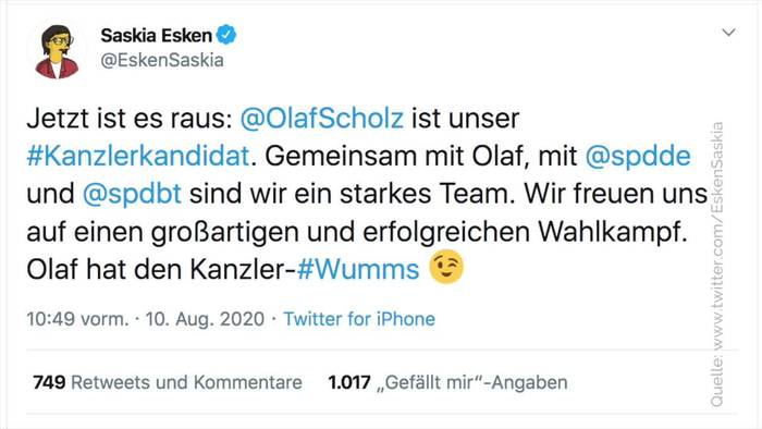 Video: SPD macht Vizekanzler Olaf Scholz zum Kanzlerkandidaten