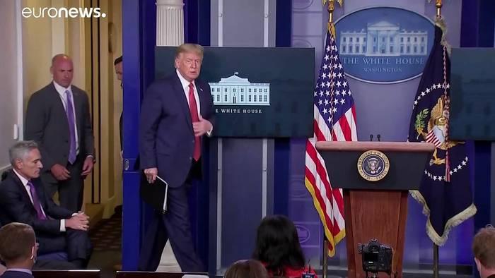 News video: Schüsse am Weißen Haus: US-Präsident Trump wurde in Sicherheit gebracht