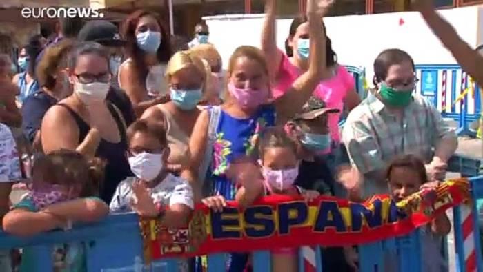 News video: Spanische Royals viel beschäftigt im Mallorca-Urlaub