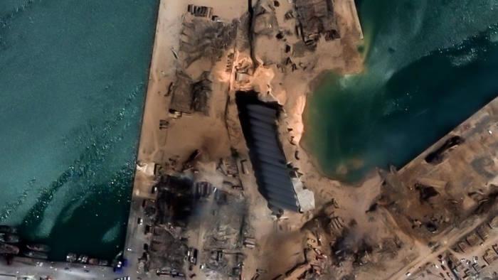 News video: Explosion in Beirut: Diese Satelliten-Bilder zeigen das Ausmaß der Katastrophe