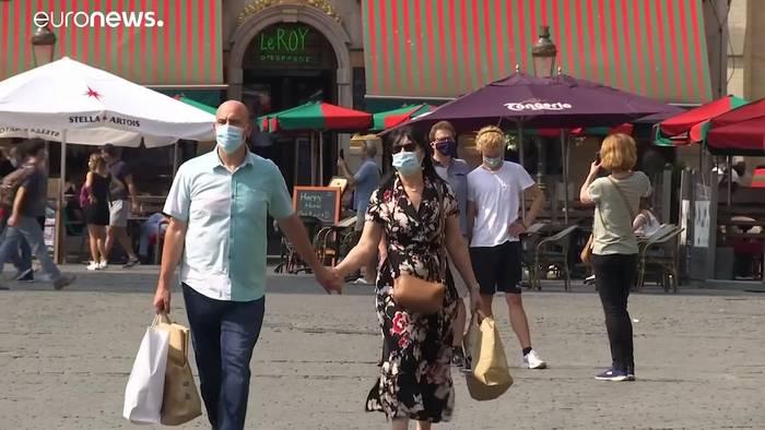 News video: Corona in Europa: Maskenpflicht immer öfter auch im Freien