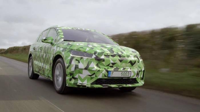 News video: Skoda Enyaq iV - Name des ersten rein elektrischen SUV von ŠKODA steht fest