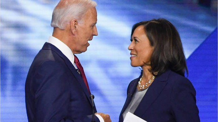 News video: Kamala Harris wird Joe Bidens