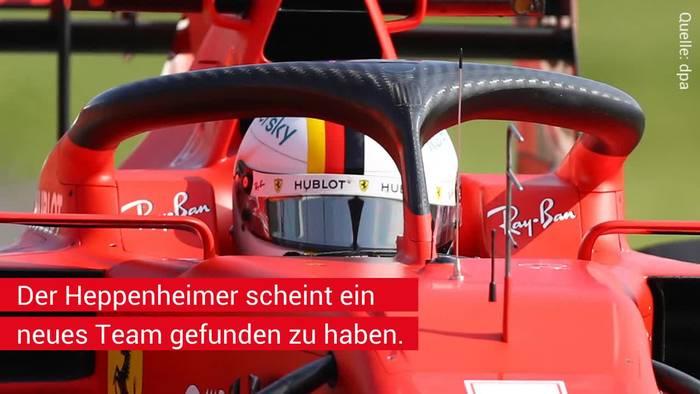 News video: Zukunft von Vettel ist wohl entscheiden: Heimlich gefilmtes Video sagt alles