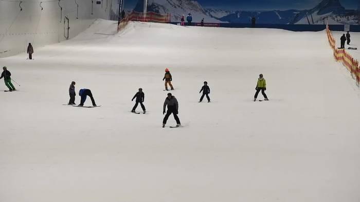 News video: Skifahren im Hochsommer - Mitten in der Lüneburger Heide