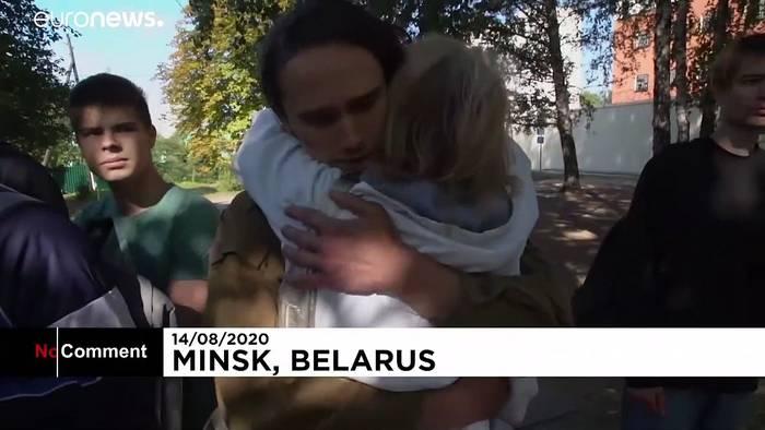 News video: Polizeigewalt in Belarus: Freigelassene zeigen ihre Wunden