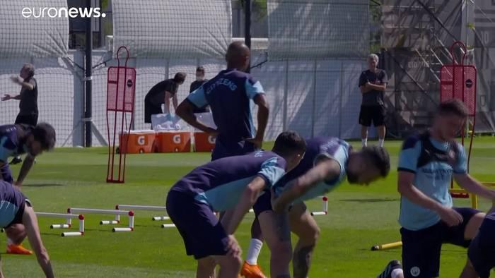 News video: Champions League Viertelfinale: Erfolgsdruck für Guardiola und Man City