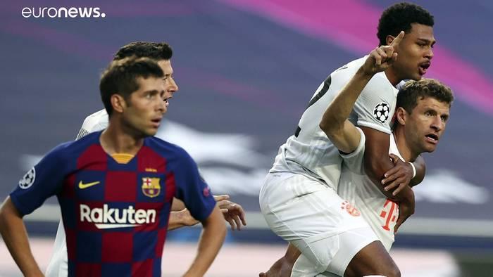 News video: Torfestival in der Champions League - Bayern schlägt Barca mit 8:2